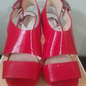 Michael Kors Women's CARLA Platform Sandal